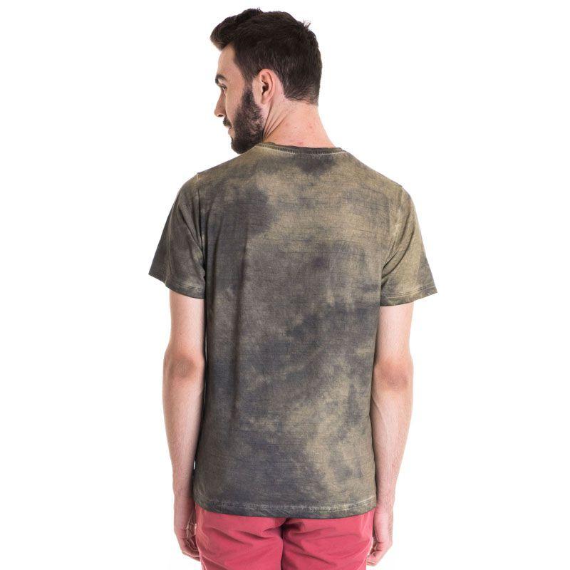 Camiseta Masculina Manga Curta Estonada 33007