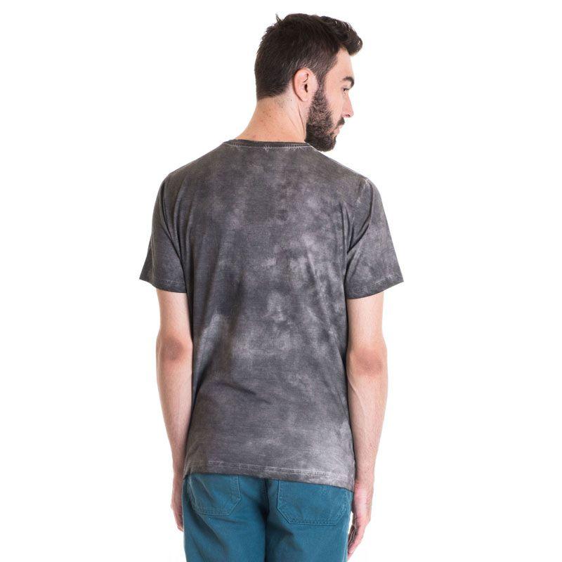Camiseta Masculina Manga Curta Estonada 33014