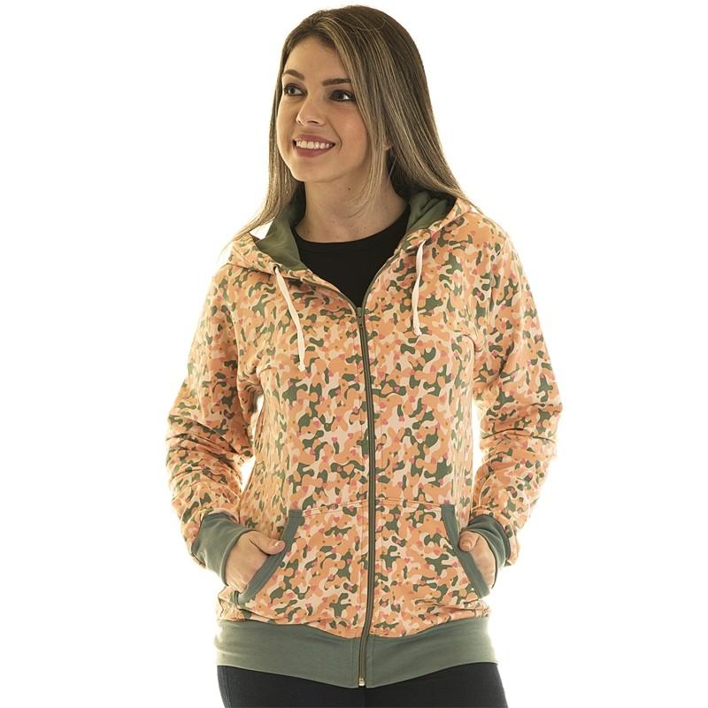 Jaqueta de Moletom Estampada 85014