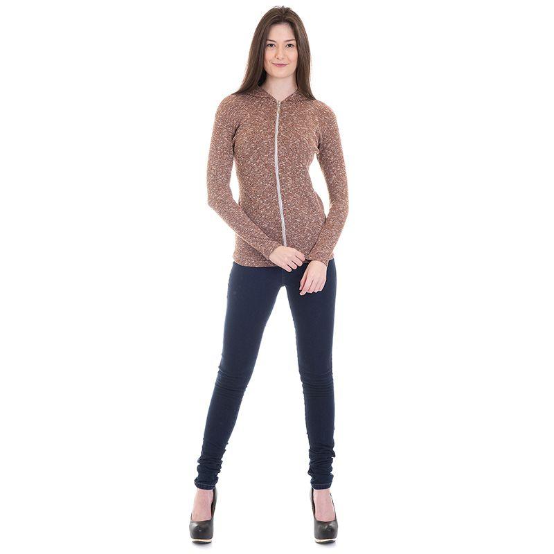 Jaqueta Feminina Tricô Plus Size 076