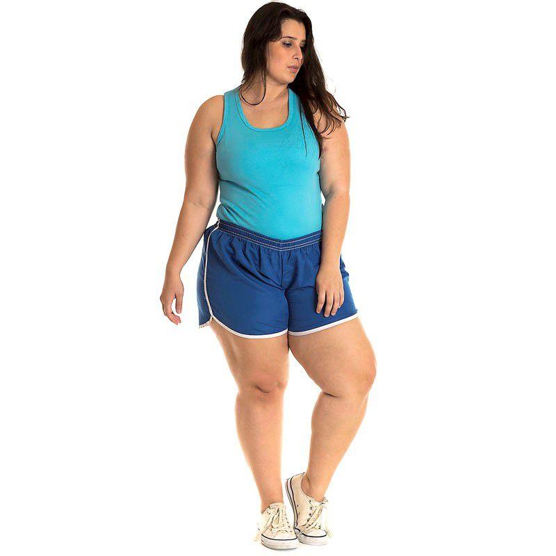 Short Tactel Plus Size 50202