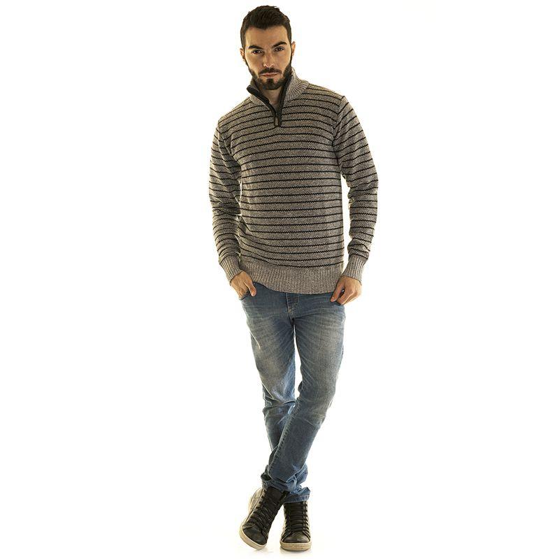 Suéter Listrado 18281