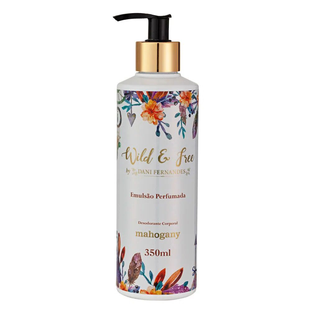 HIDRATANTE WILD AND FREE BY DANI FERNANDES 350ML