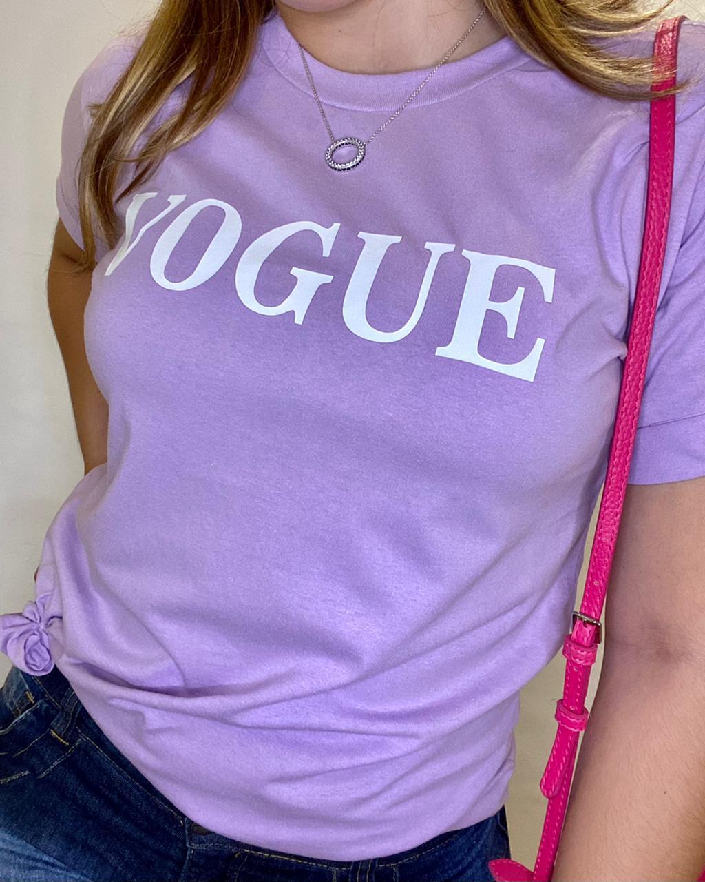 T-shirt Vogue