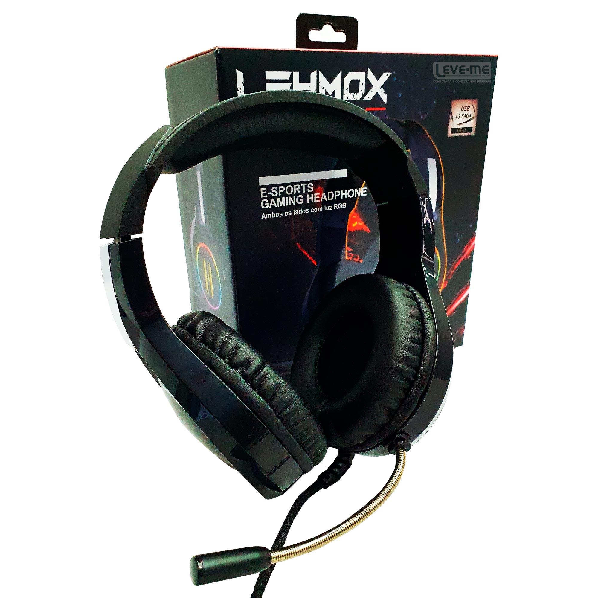 Headphone E-Sports Gaming - GT-F3