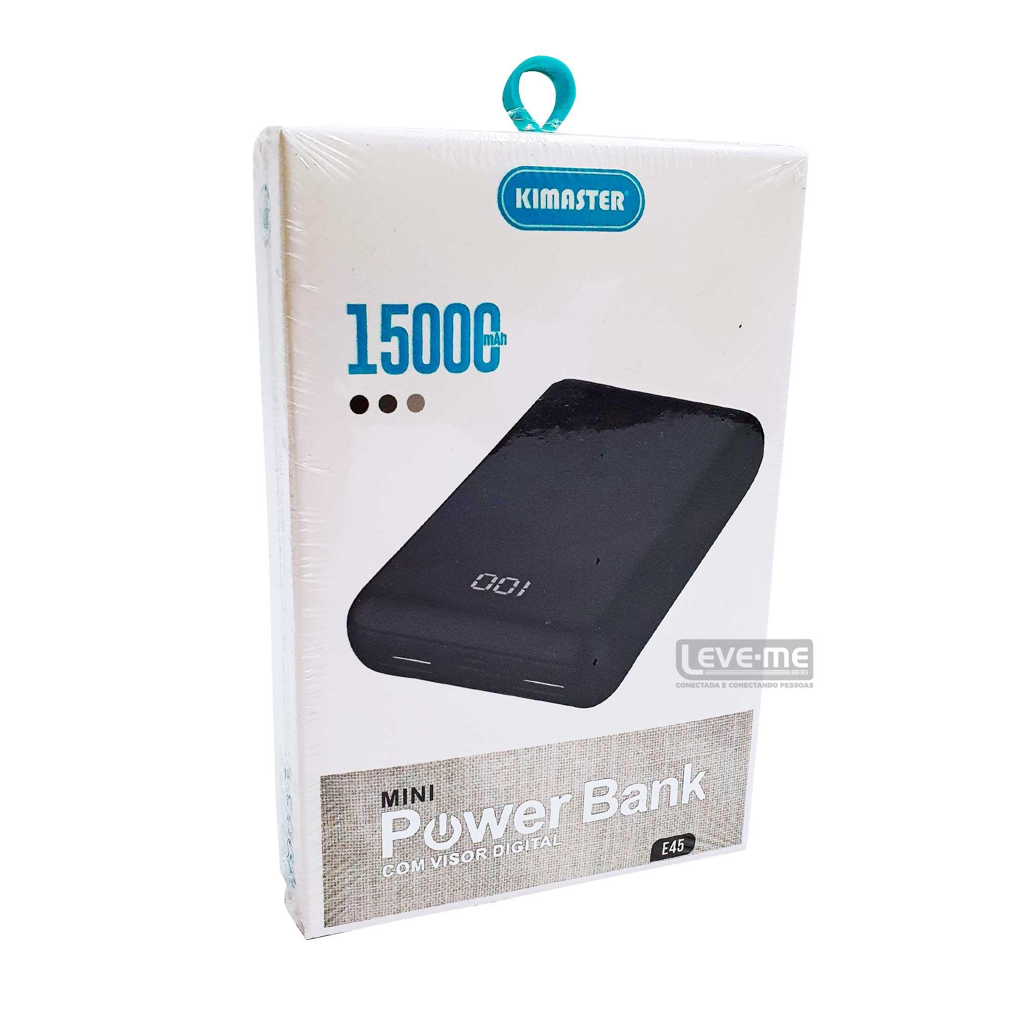 Power Bank portátil mini 15000MAH