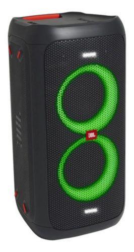 Jbl Partybox 100 Altofalante Portátil 160w Sem Fios Com Luz