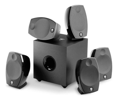 Home Theater Focal Sib Evo 5.1 Pack Bivolt