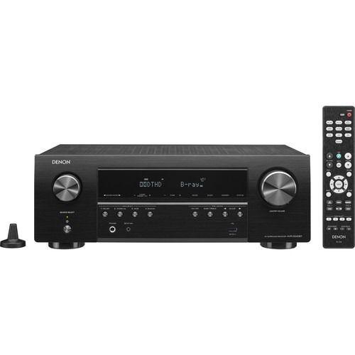 Receiver Denon AVR-S540BT 5.2ch 4K UHD HDR Bluetooth USB - Preto/110v