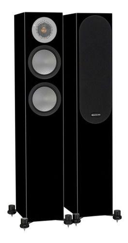 Monitor Audio Silver 200 Par Caixa Acústica Torre 150w High Gloss Black