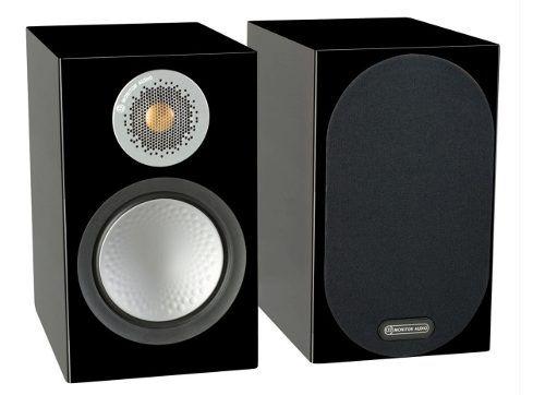 Caixa Acústica Monitor Audio Silver 100 Black Gloss