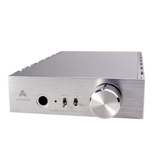 Amplificador Headphone Audeze Deckard Com Dac Silver 110v