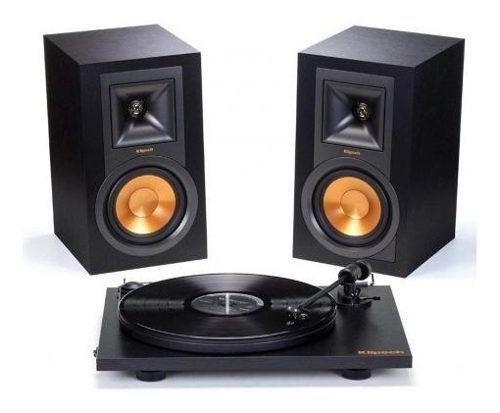 Kit Caixa Ativa Klipsch R-15PM + Toca discos Pro-Ject Primary ( 1062948 )
