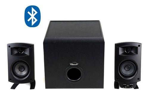 Klipsch Promedia 2.1 Bluetooth Caixas Para Pc Com Subwoofer