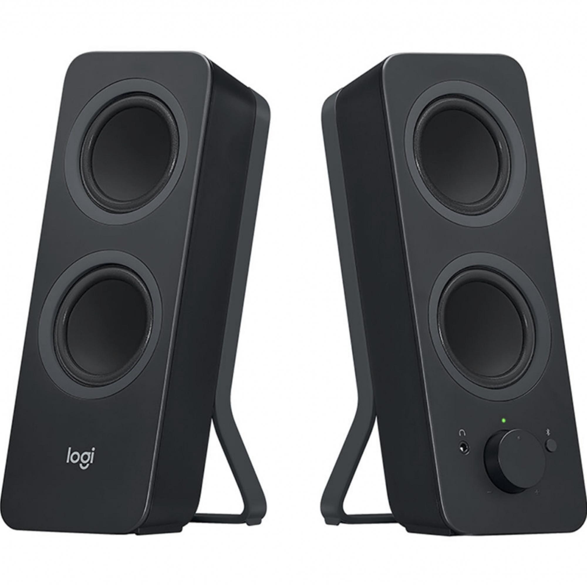 Alto-falantes Bluetooth Logitech Z207 para computador ( preto )
