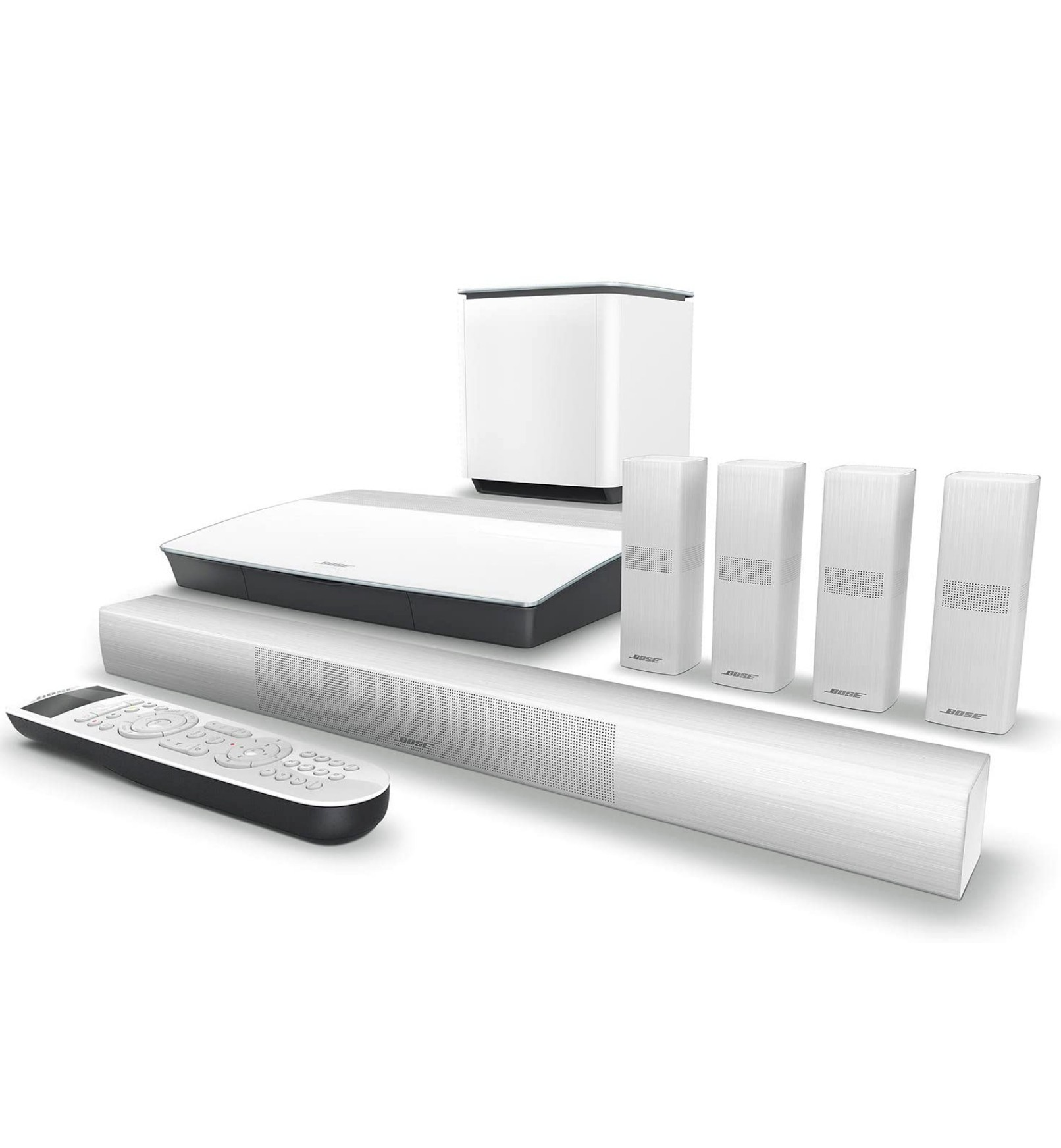 Bose Lifestyle 650 Home Theater System With Omnijewel Branco