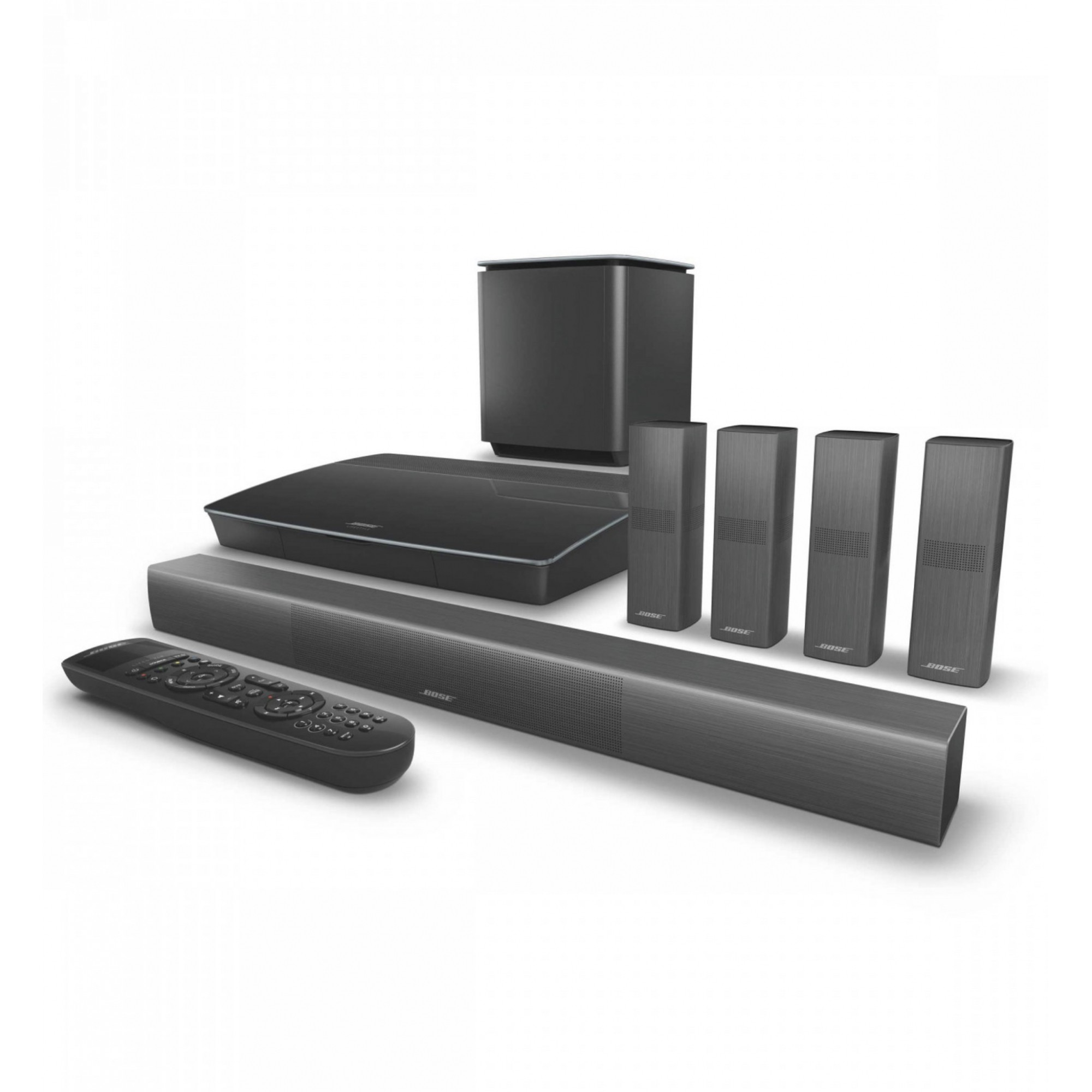 Bose Lifestyle 650 Home Theater System With Omnijewel Preto