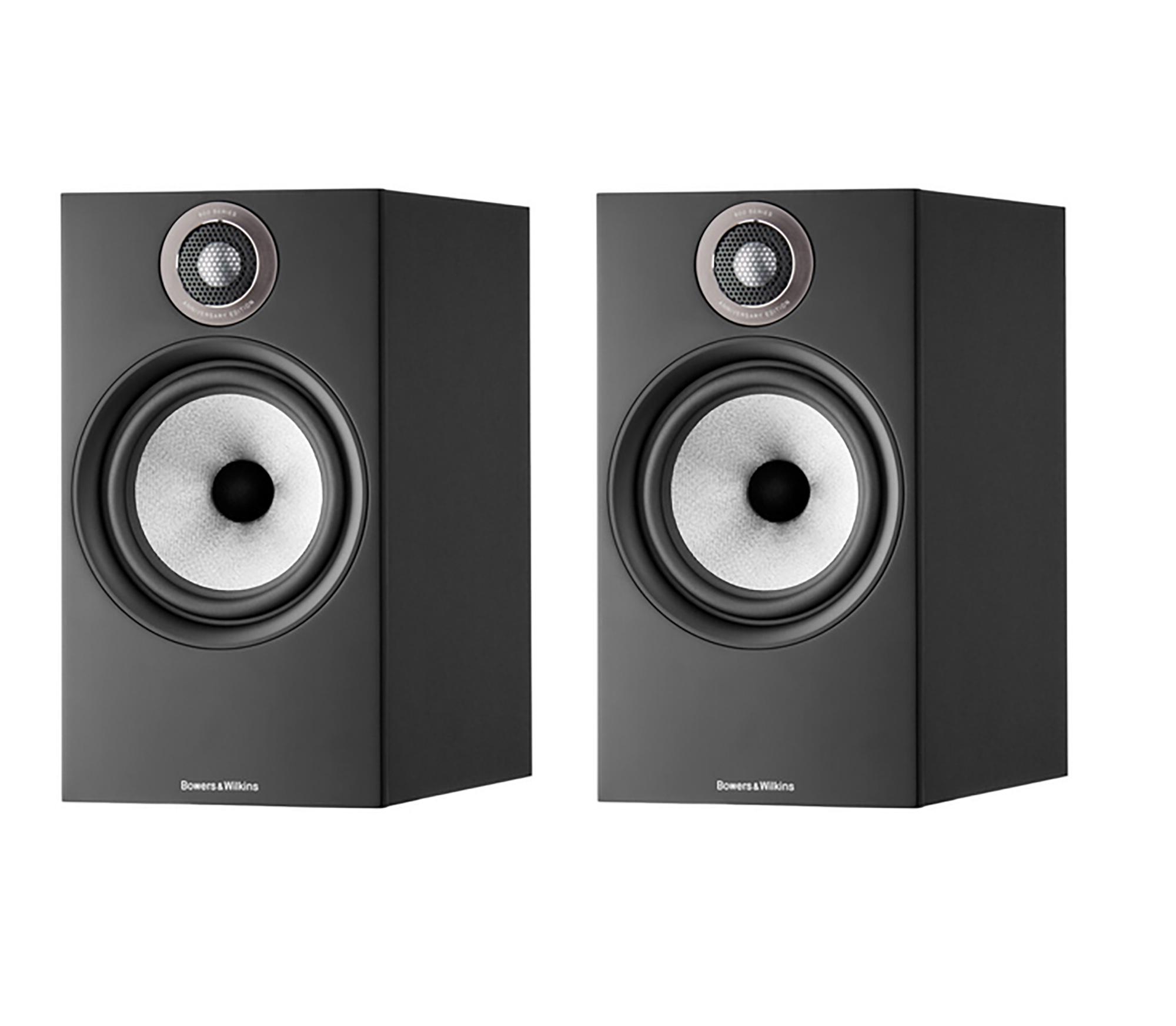 Bowers & Wilkins Caixa Torre 606 S2 Anniversary Edition (Gloss Black) Par - Sem Estante