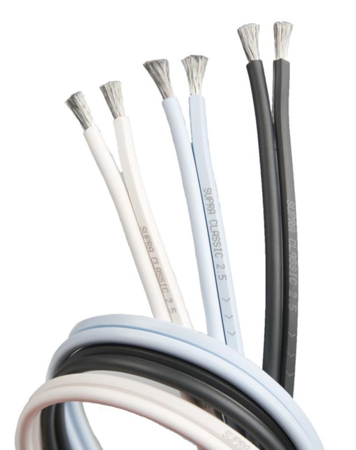 Cabo Caixa Acústica Supra Cables CLASSIC 2 X 2.5 - 2 Metros
