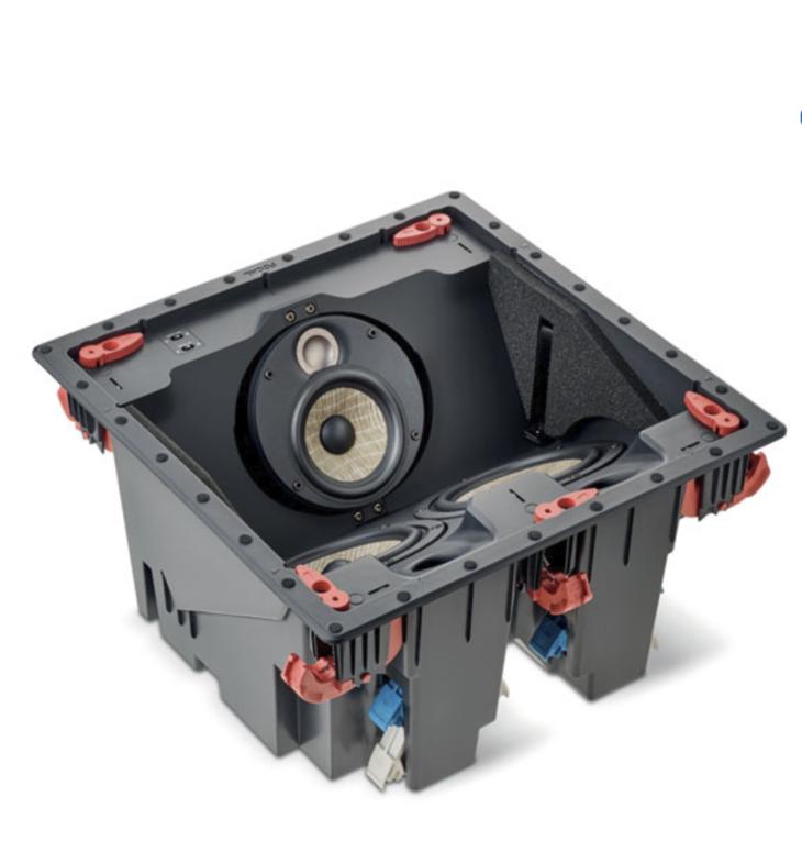 Caixa Acústica Focal 300ICLCR5 Teto 150w Valor Unidade
