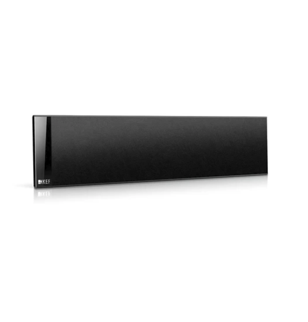 Caixa Kef T301c Ultra - Slim Central Preto