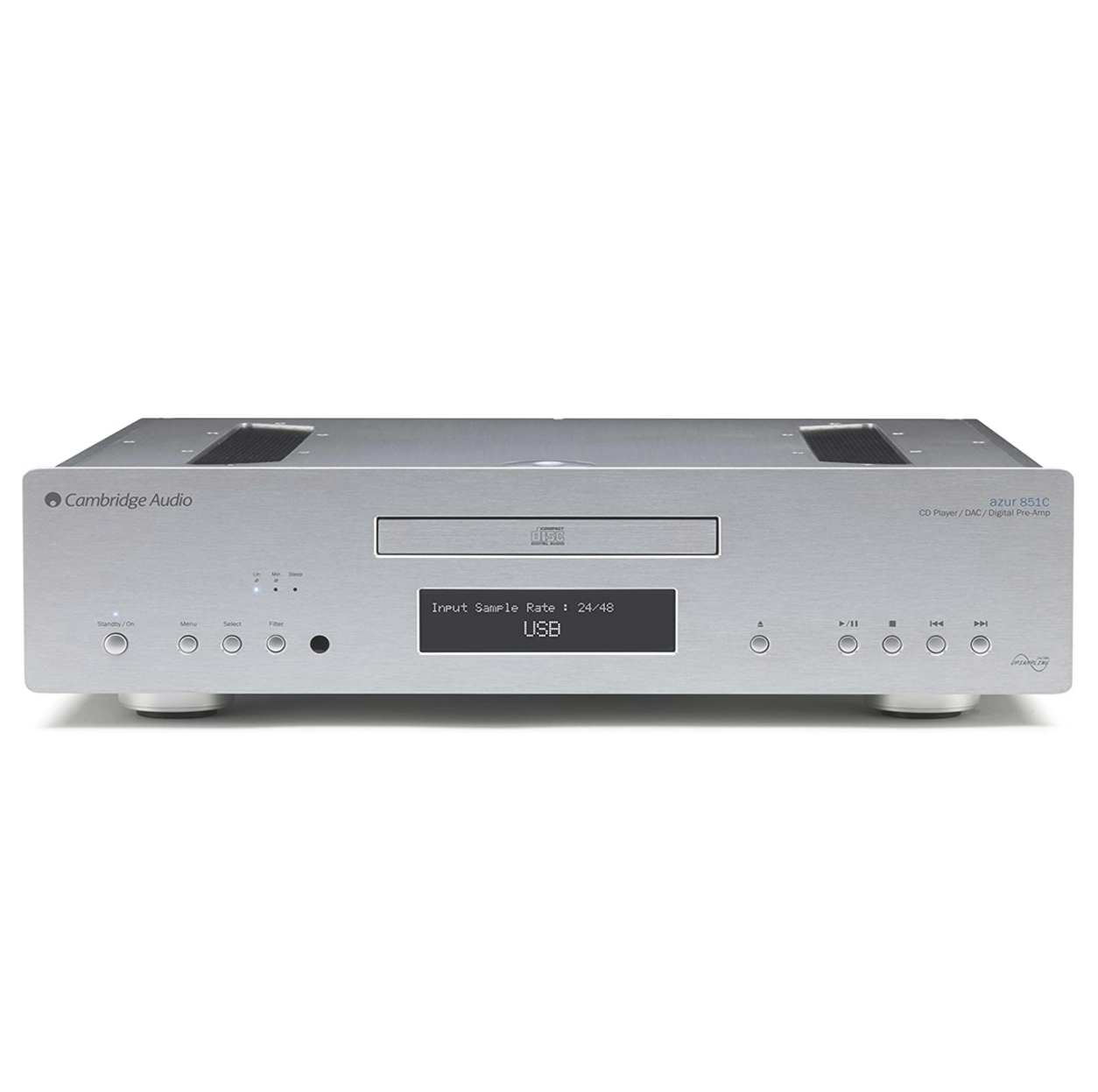 Cambridge Audio 851c High Performance Dac 110v Prata