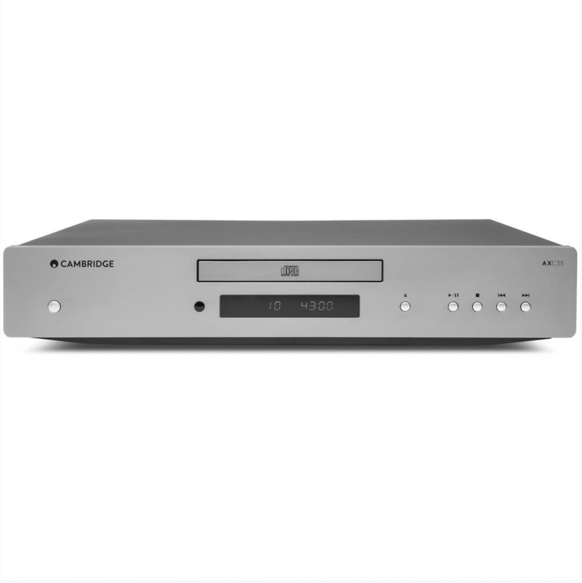 Cambridge Audio Axc35 Cd Player Silver