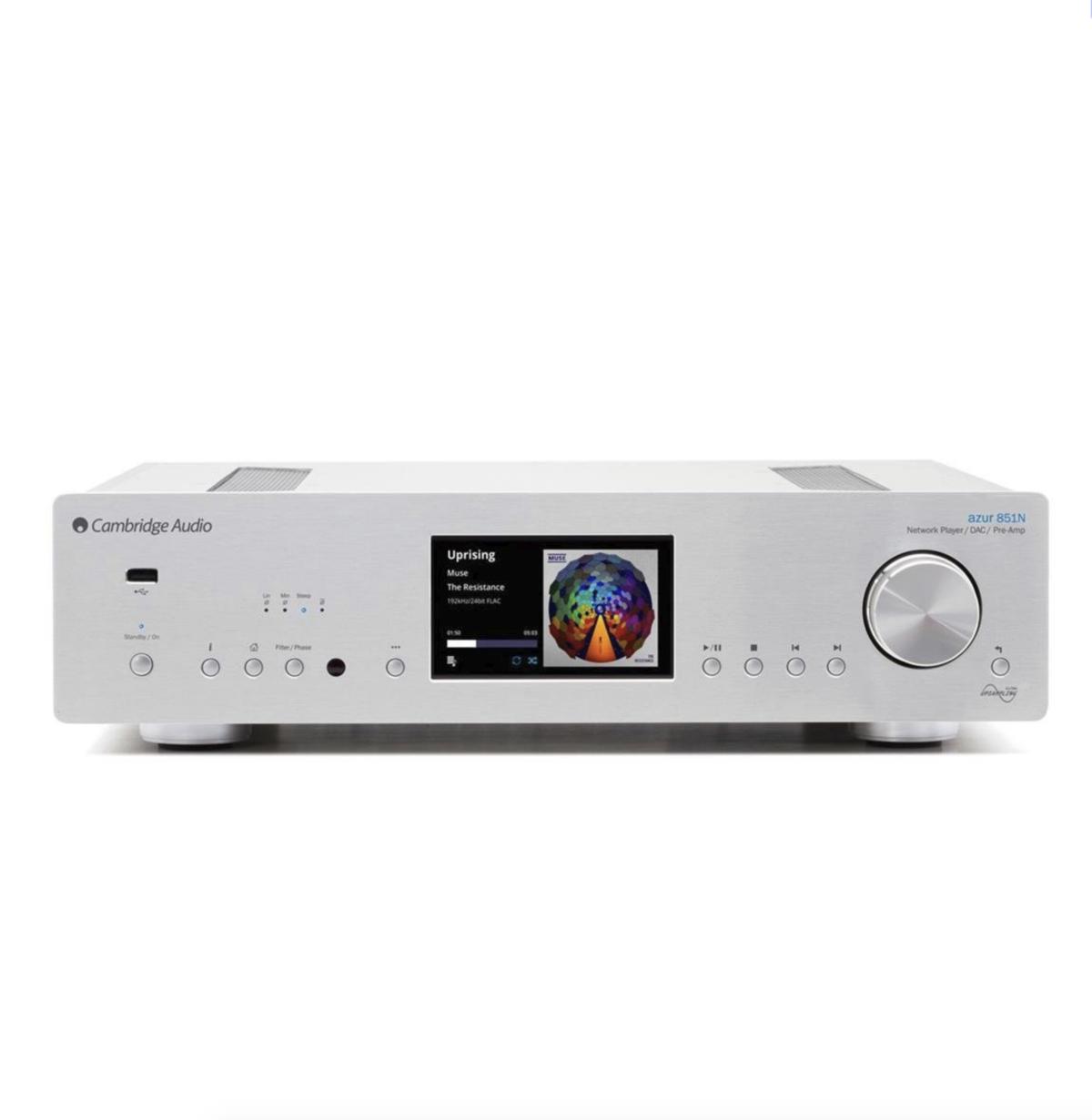 Cambridge Audio Azur 851n - Network Music Player Prata