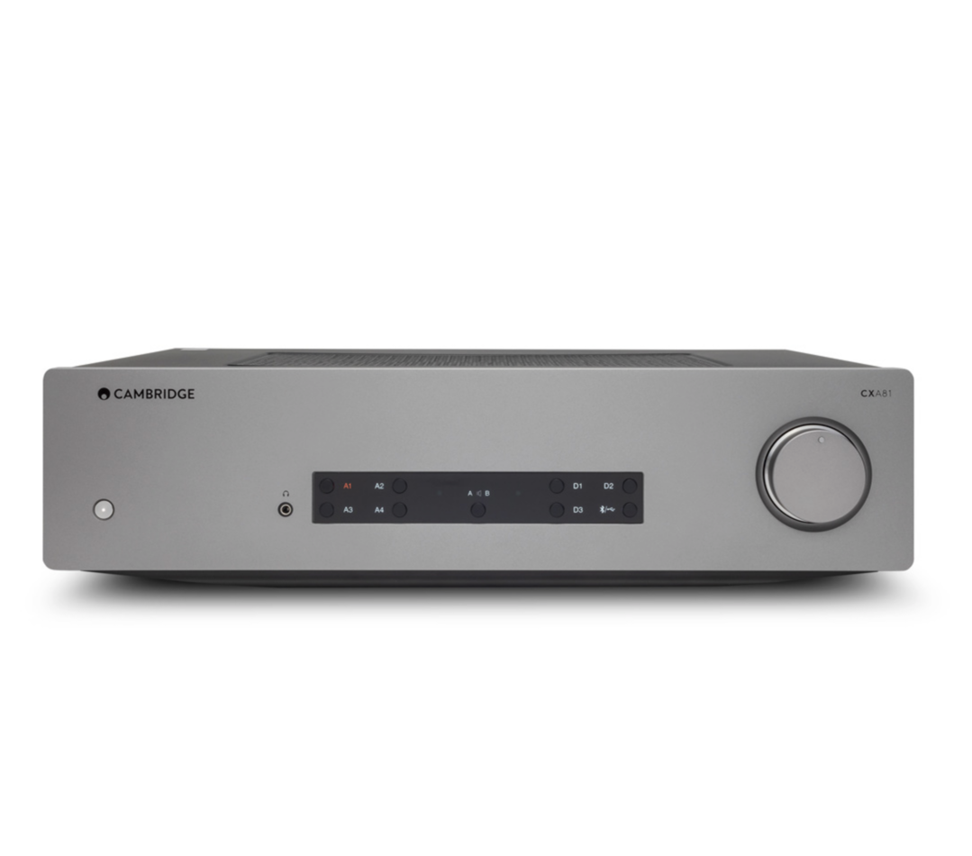 Cambridge Audio Cxa81 Aptx Hd Bluetooth Amplificador (Gray)