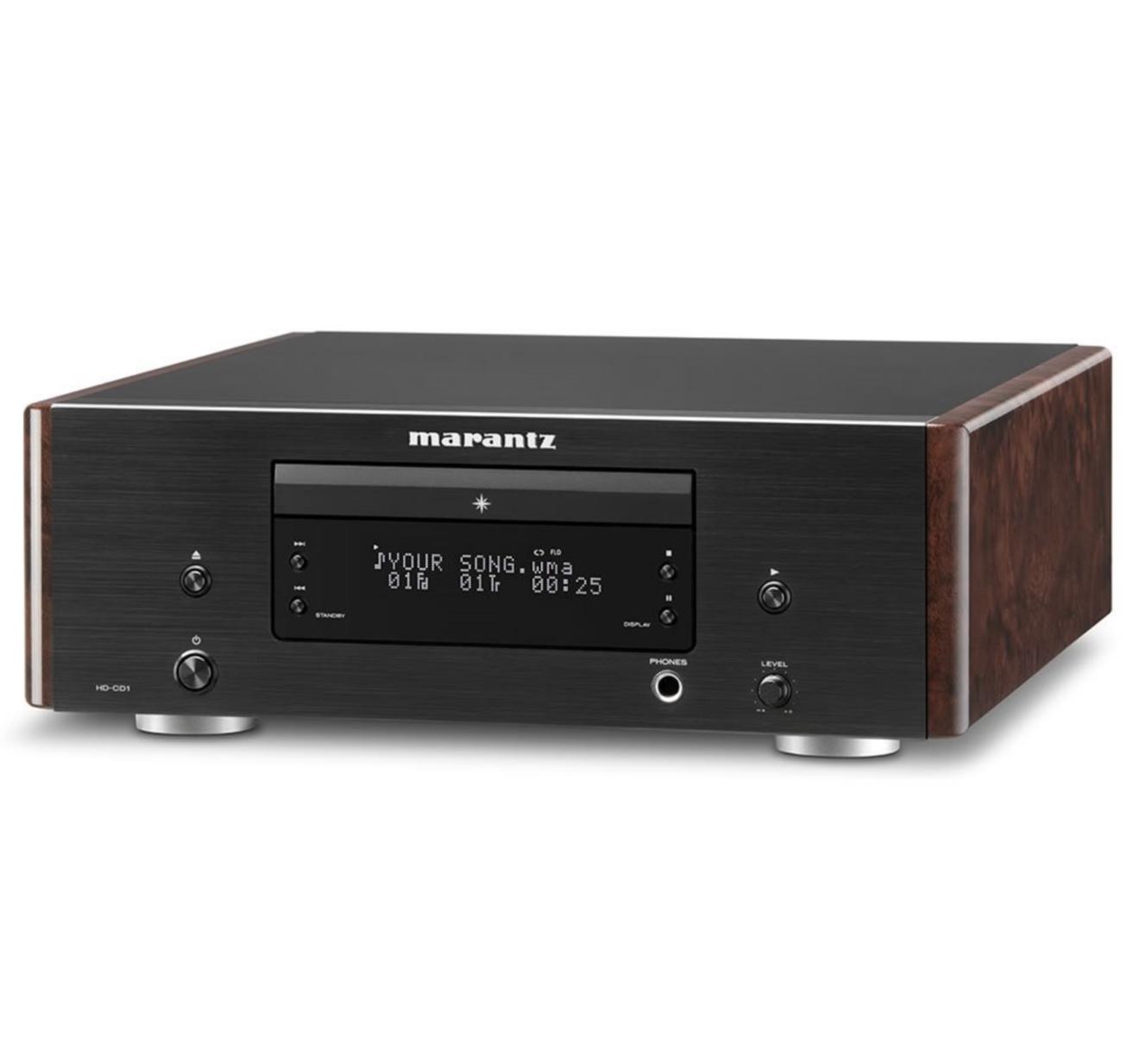 Cd Player Marantz HD-CD1 High Definition Cd / Cd-R/Rw / Wma / MP3 / Aac