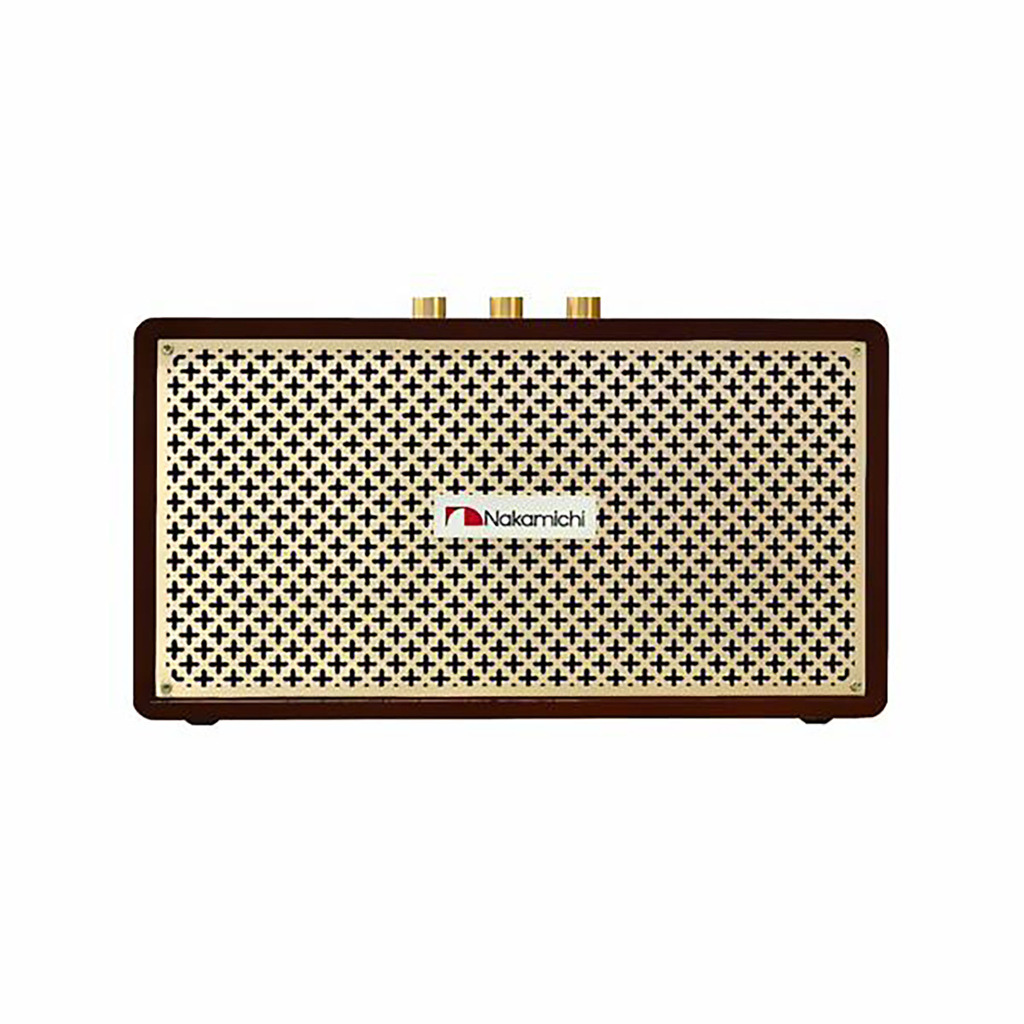 Nakamichi Jukebox /BT/USB/AUX (Marrom)