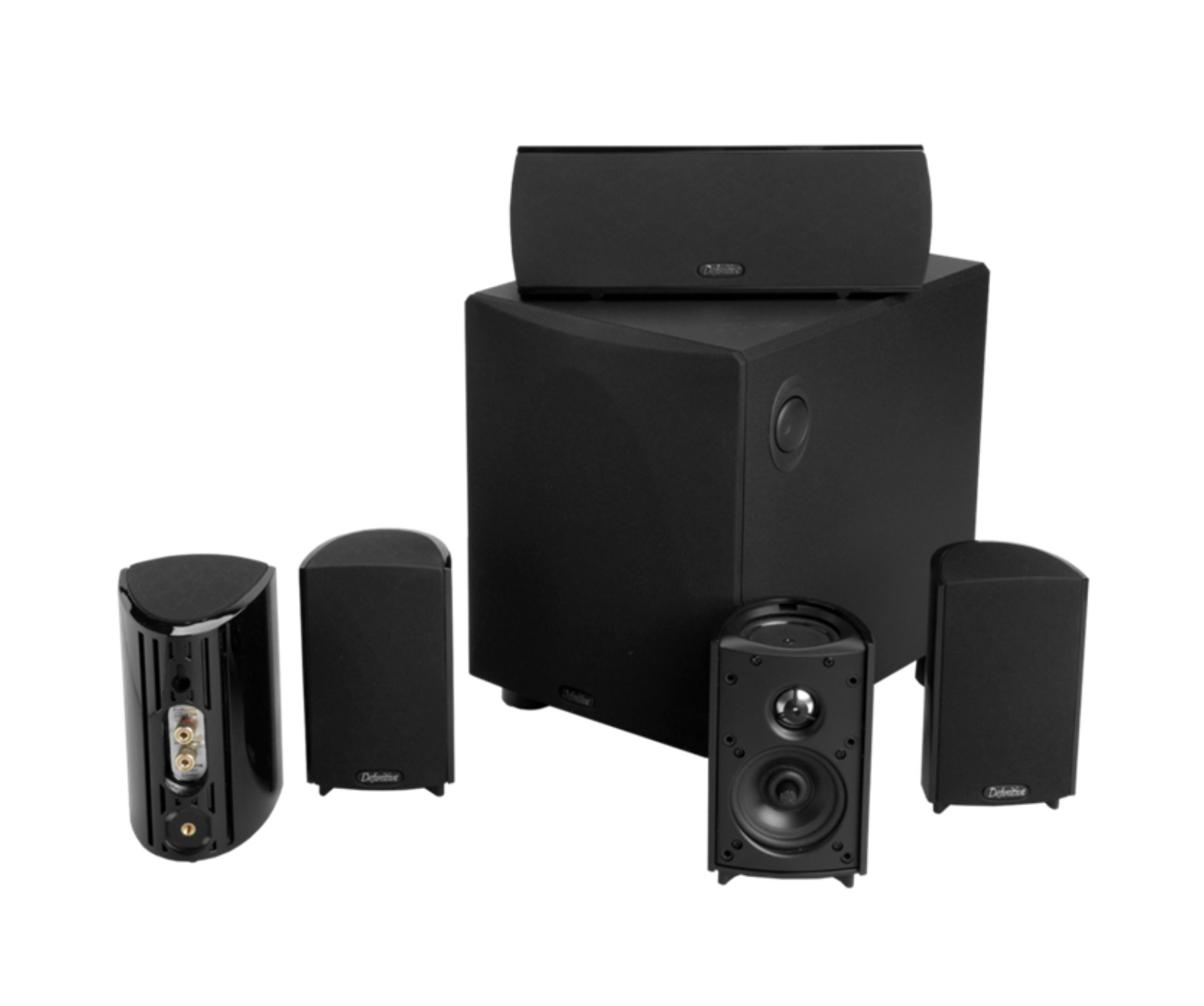 Definitive ProCinema 600 Home 5.1 Canais Home Theater  110v