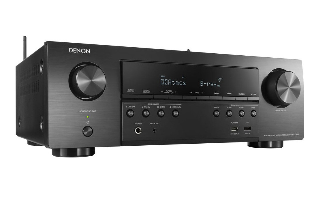 Denon AVR-S750H Receiver Home Theater 7.2CH Dolby Atmos, DTS: Suporte X