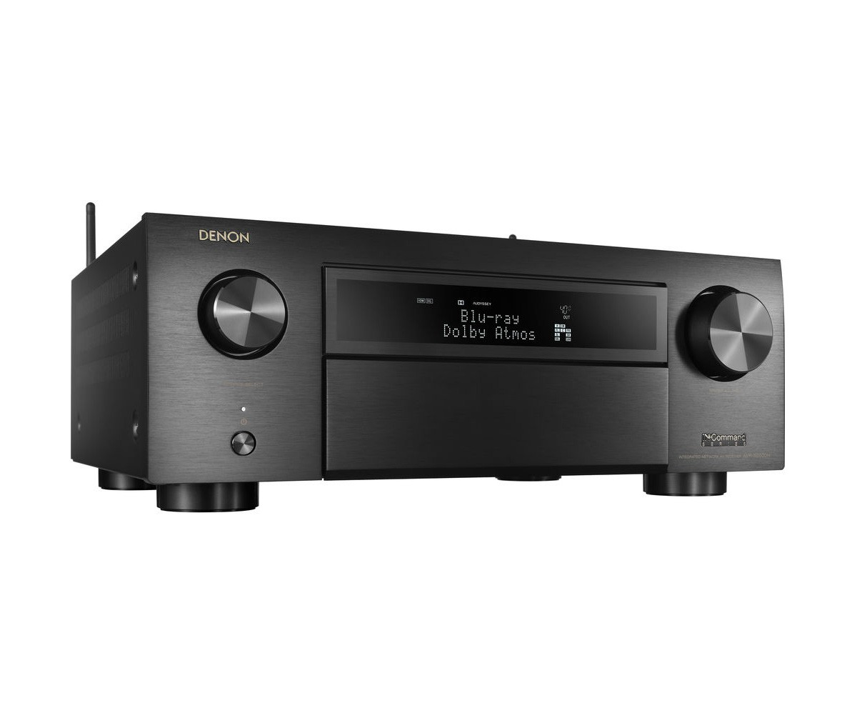 Denon AVR-X6500H Receiver 11.2 canais Bluetooth Wifi Dolby Atmos Heos Wireless Technology HDCP 2.2 HDR 3 saídas HDMI 110V