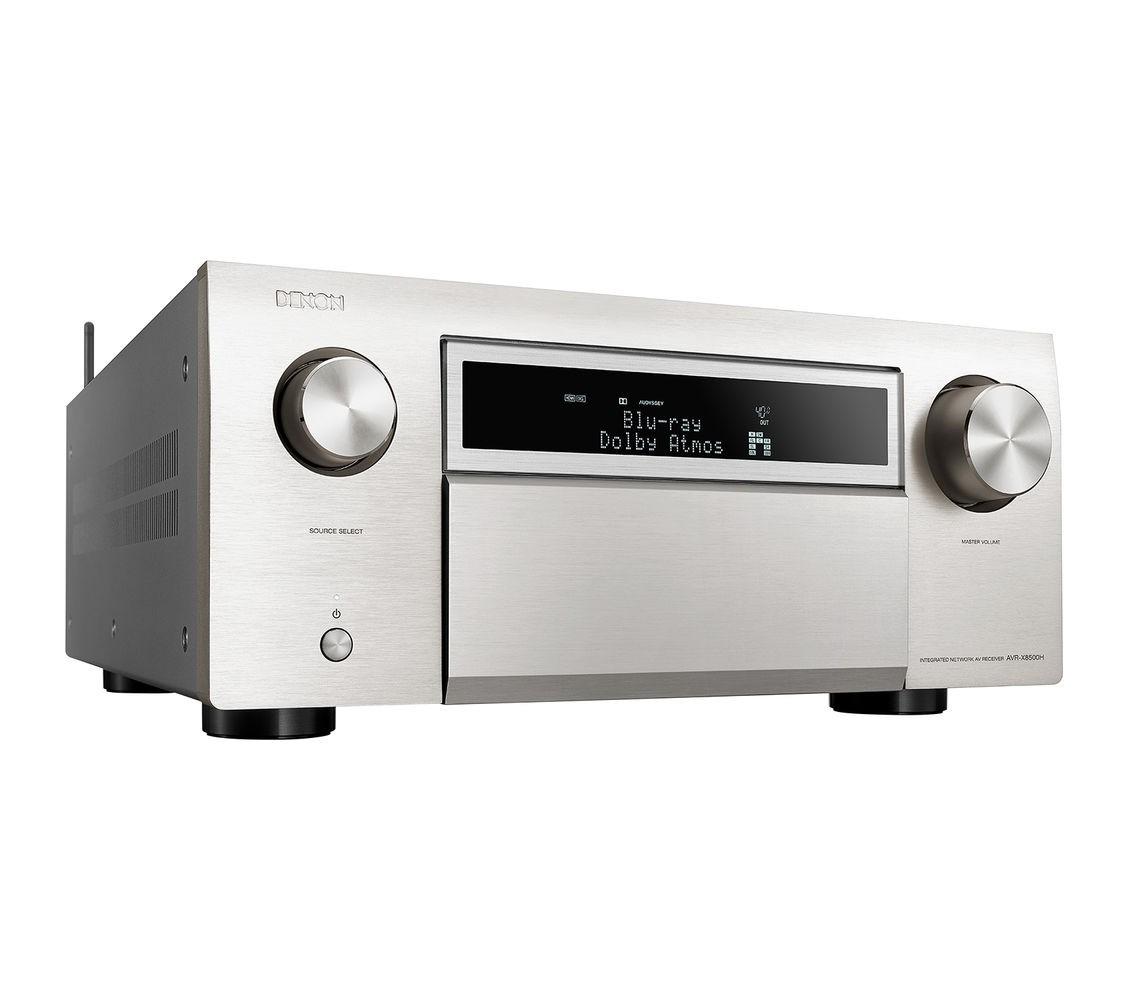 Denon AVR-X8500h Receiver 13.2 ch 150W em 8 ohms Bluetooh Wifi Dolby Atmos HDCP 2.2 Ultra HD 110V Prata