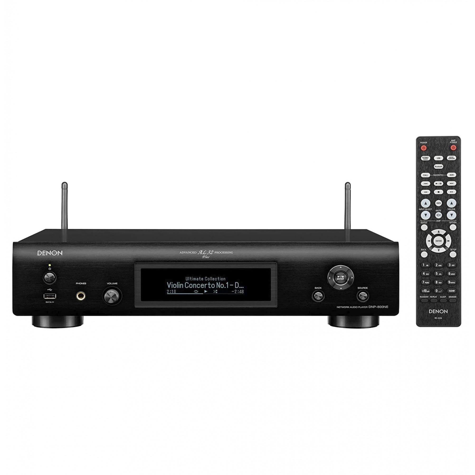 Denon Dnp-800ne Bluetooth Heos E Apple Airplay 2