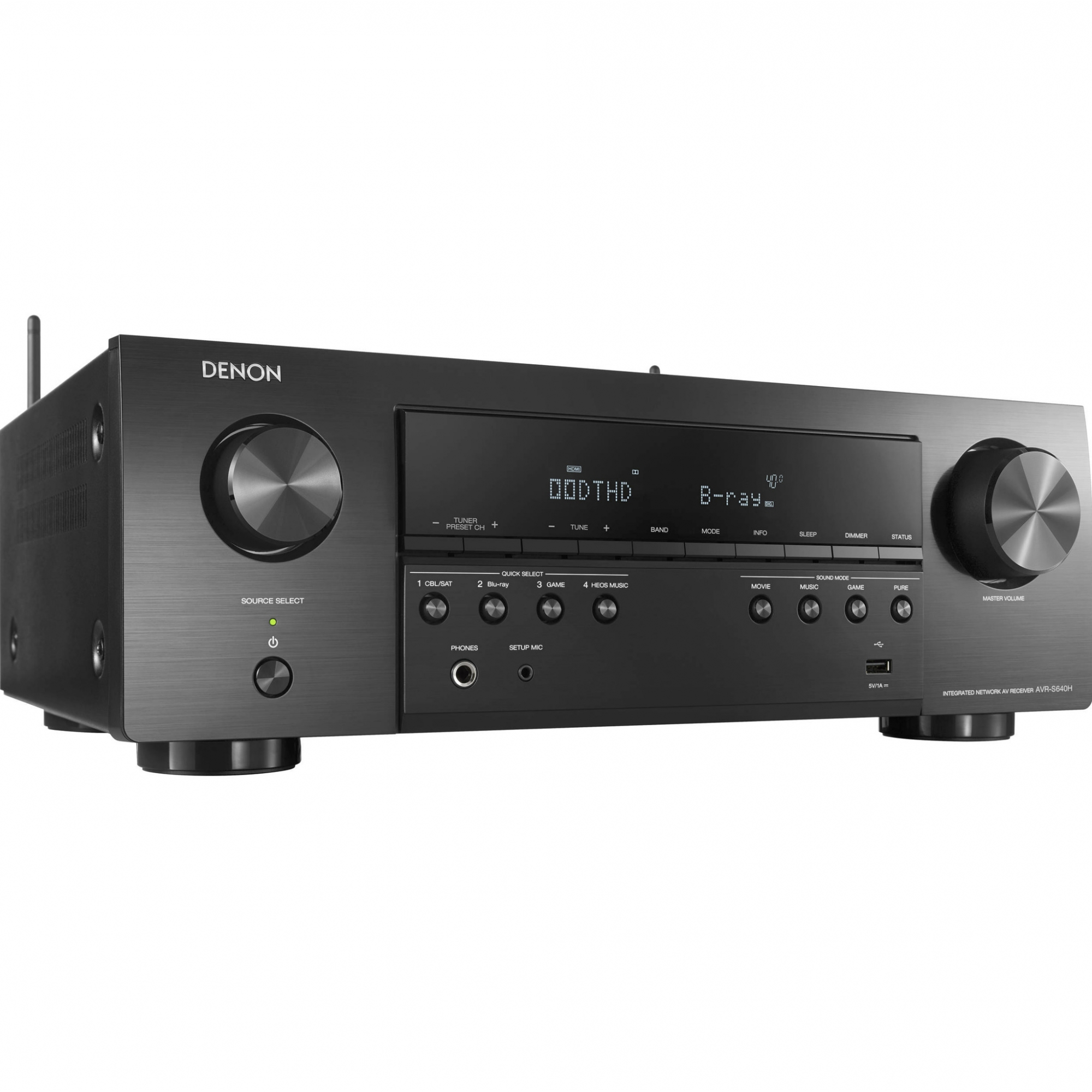 Denon DRA-800H Receiver 5 x HDMI - HDR UHD 110v