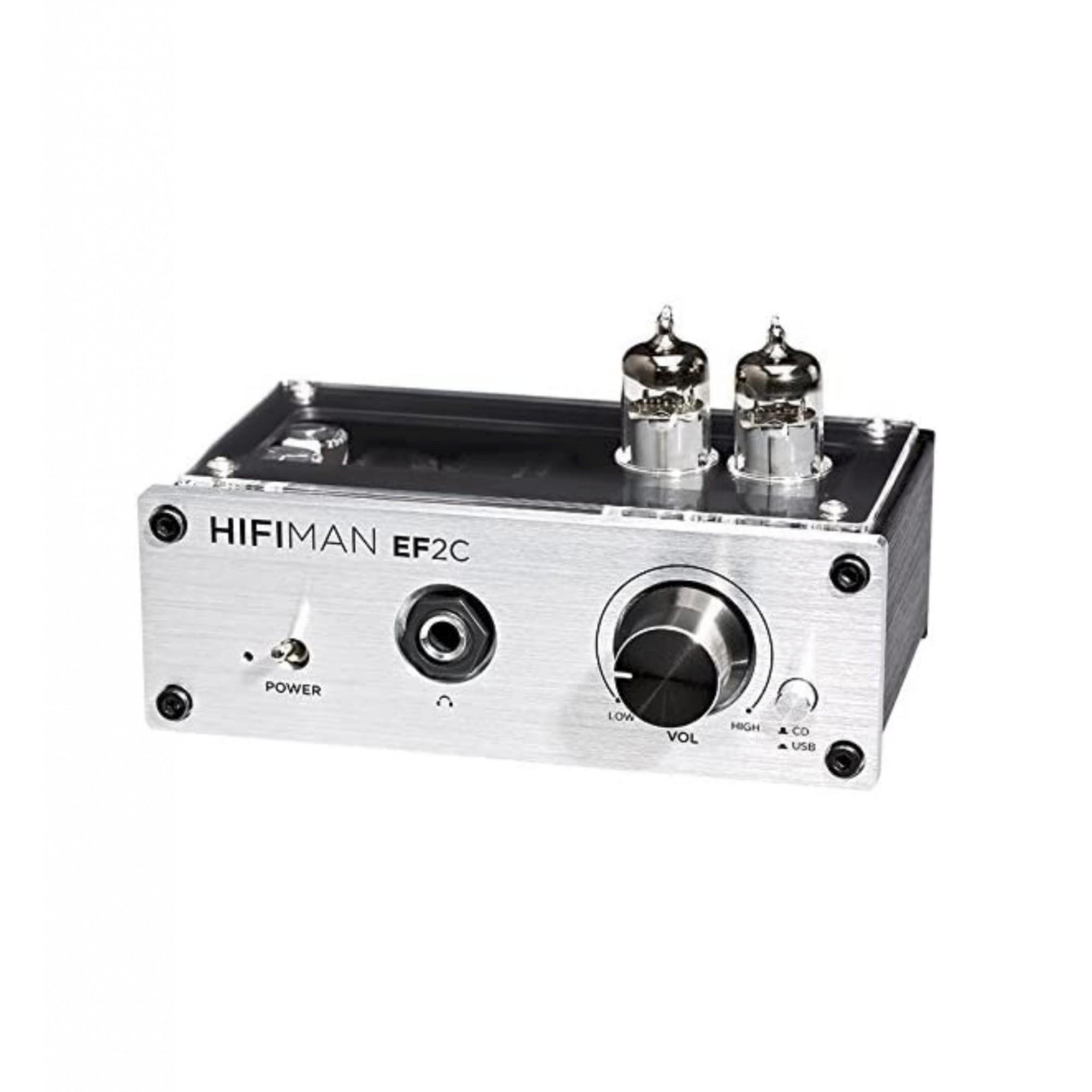 Hifiman Ef2c Dac Amplificado Fone Ouvido Valvulado
