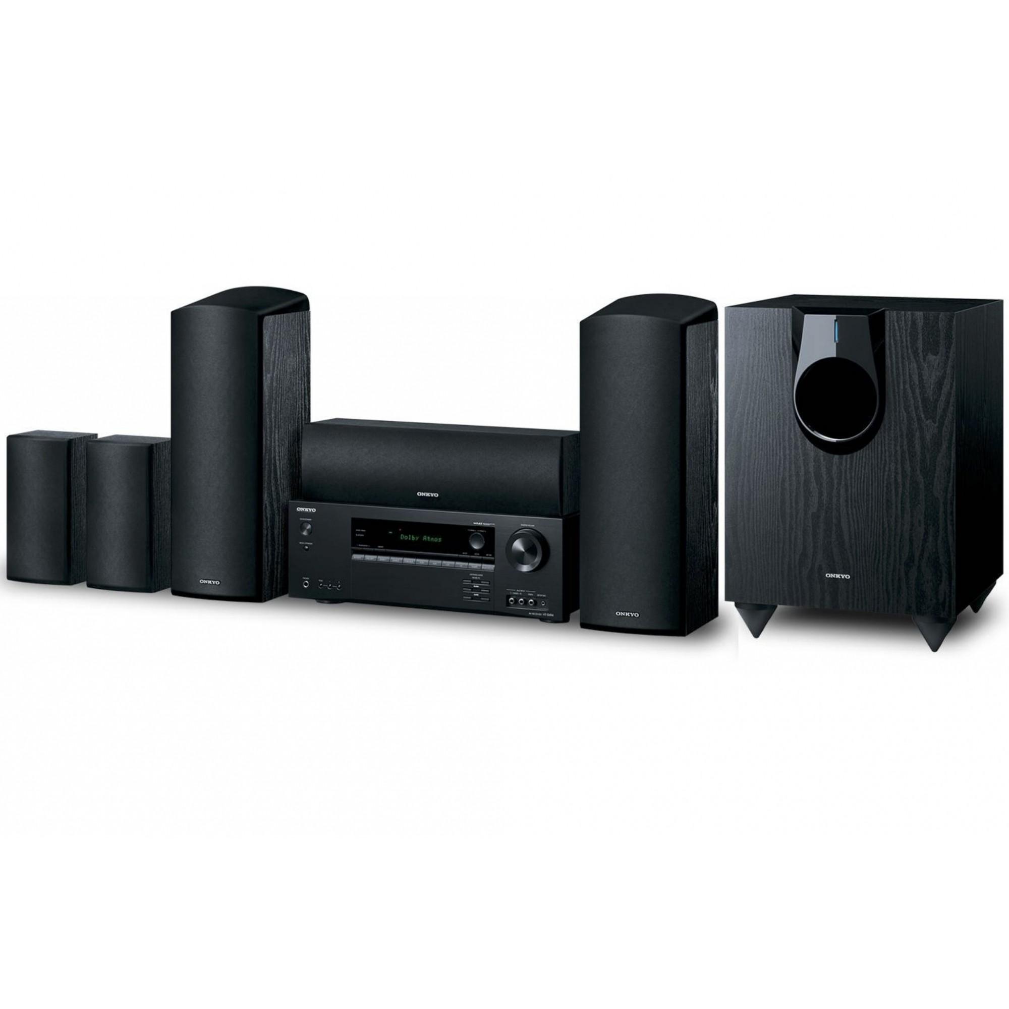 Home Theater 5.1.2ch Dolby Atmos Onkyo HT-S5910 Zona B 4K Bluetooth - 110v