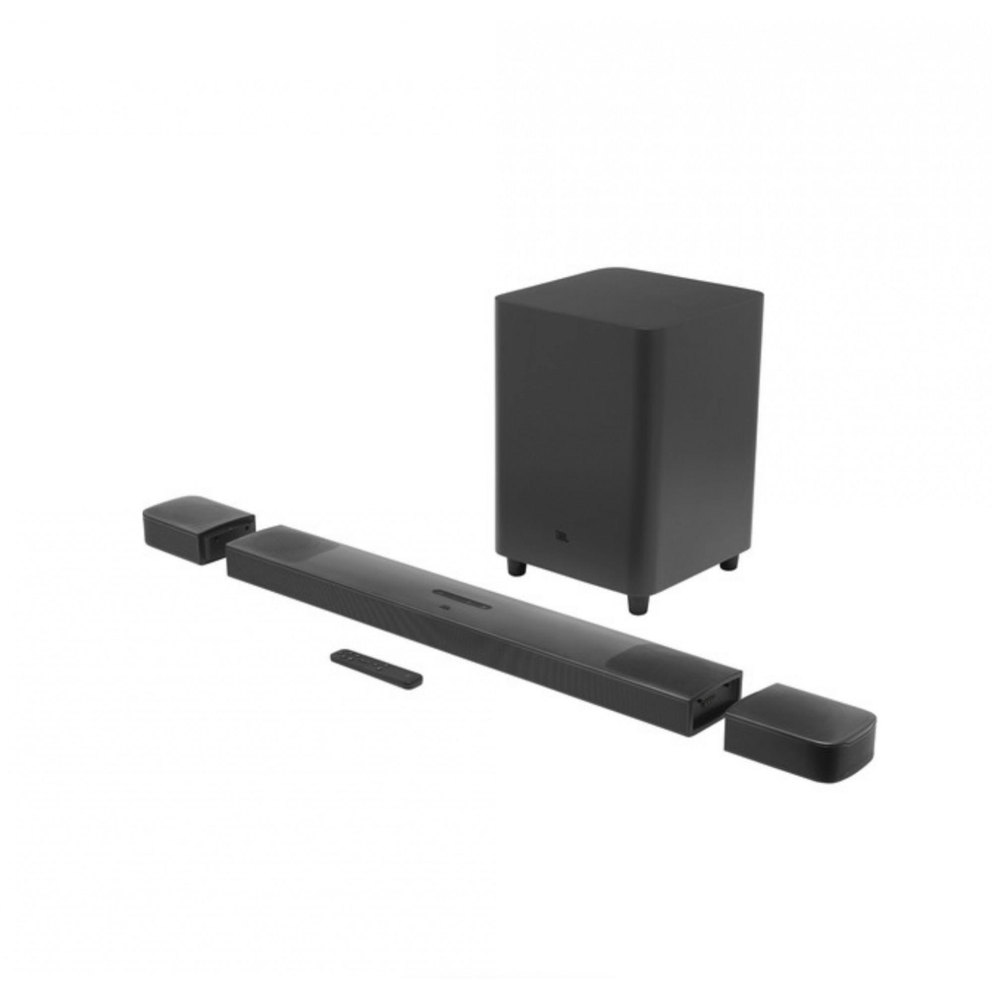 JBL BAR 9.1 True Wireless Surround Dolby Atmos 5.1.4 820W Anatel - Preto - Bivolt