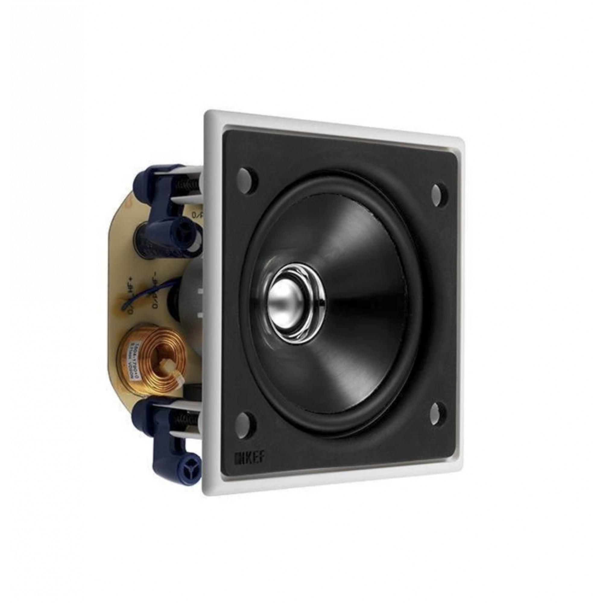 Kef Ci100qs Caixa Acústica De Embutir Quadrada 1 Unidade