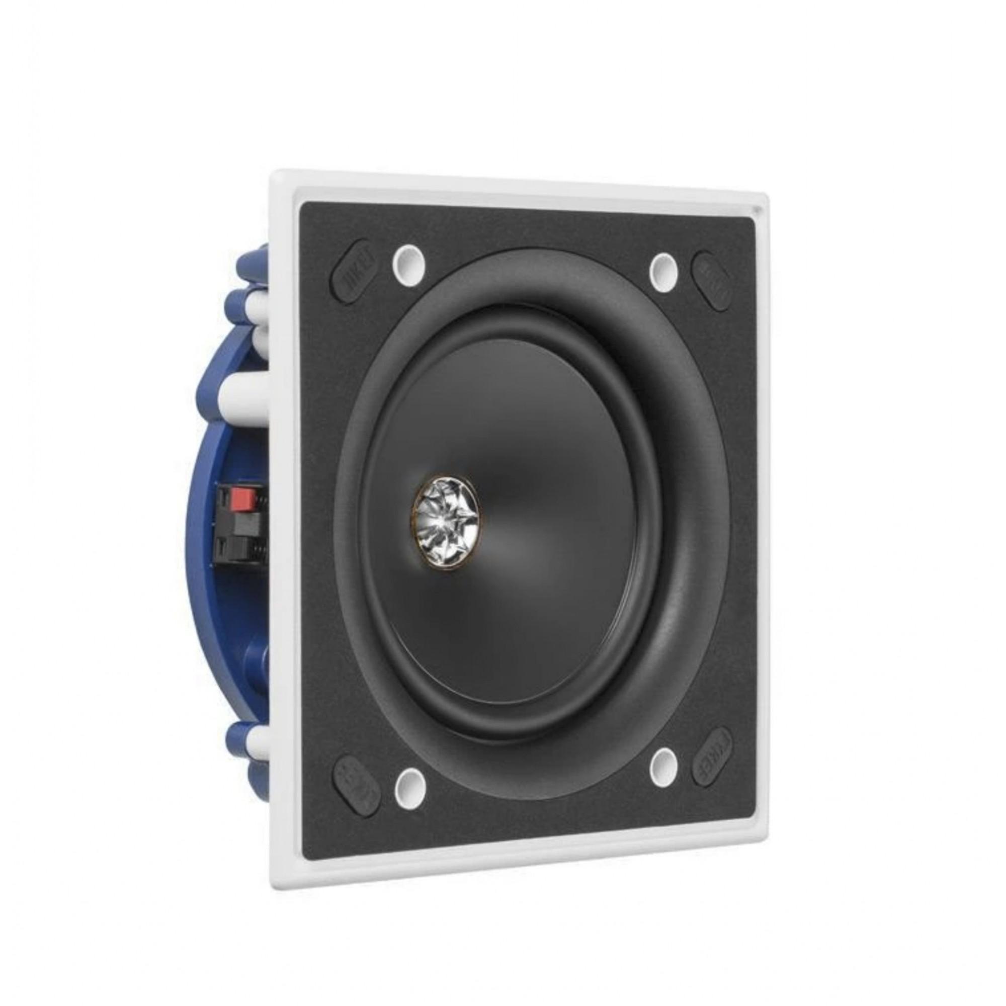 Kef Ci130.2cs Caixa Acústica De Embutir Gesso Slim Quadrada 1 Unidade