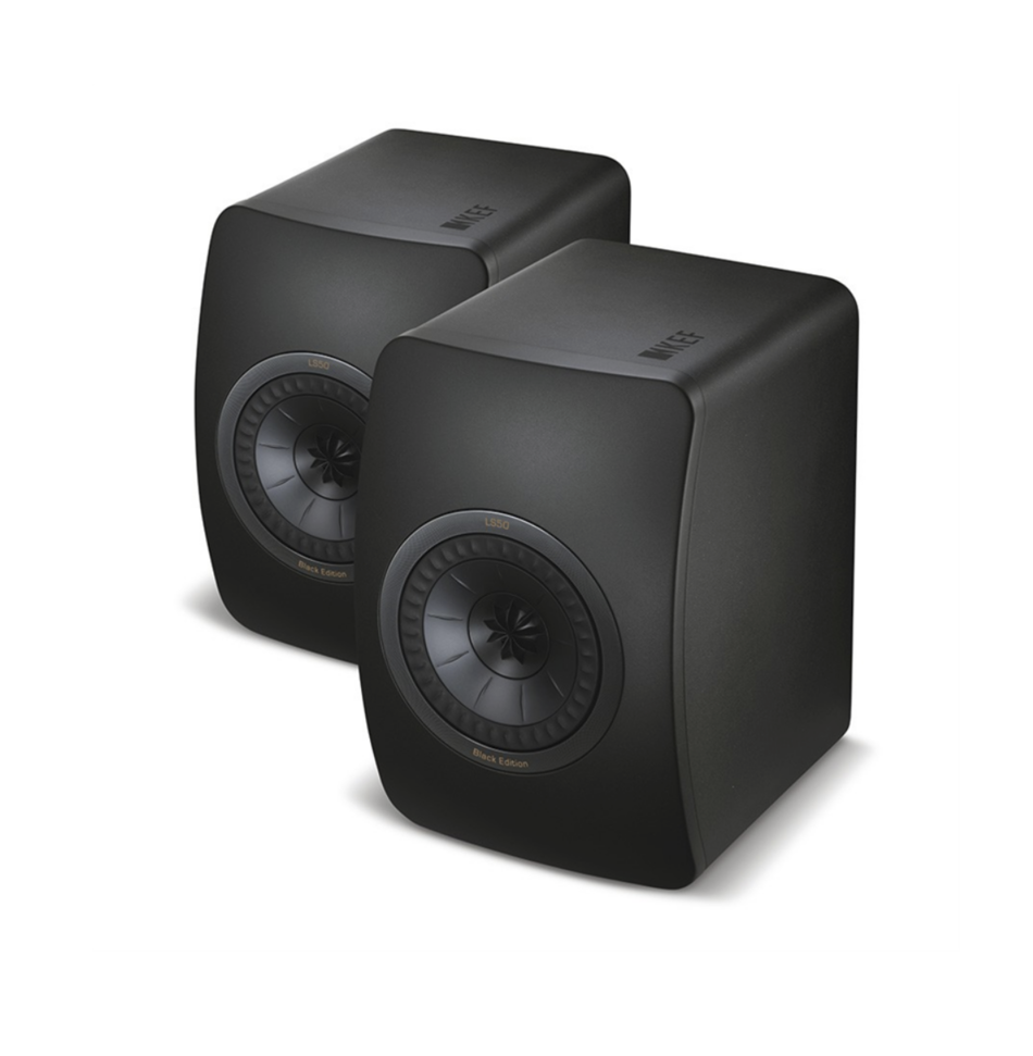 Kef LS50 Black Edition Speakers (Par) - Black