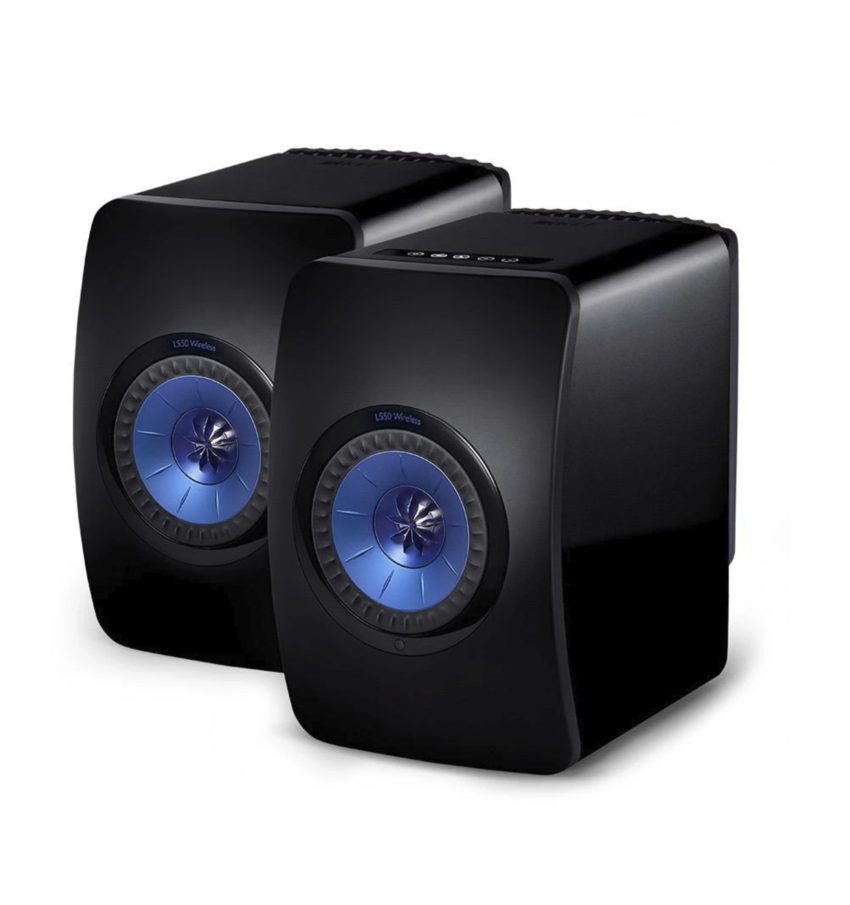 Kef LS50 Wireless ( Par ) Gloss Black/Blue