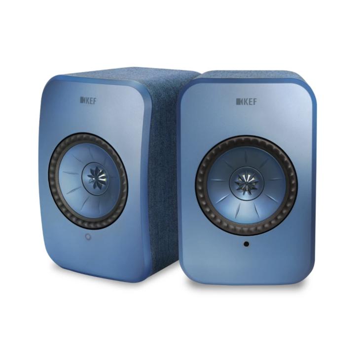 Kef Lsx Wireless Hi-res  Caixa Acústica Premium - Azul