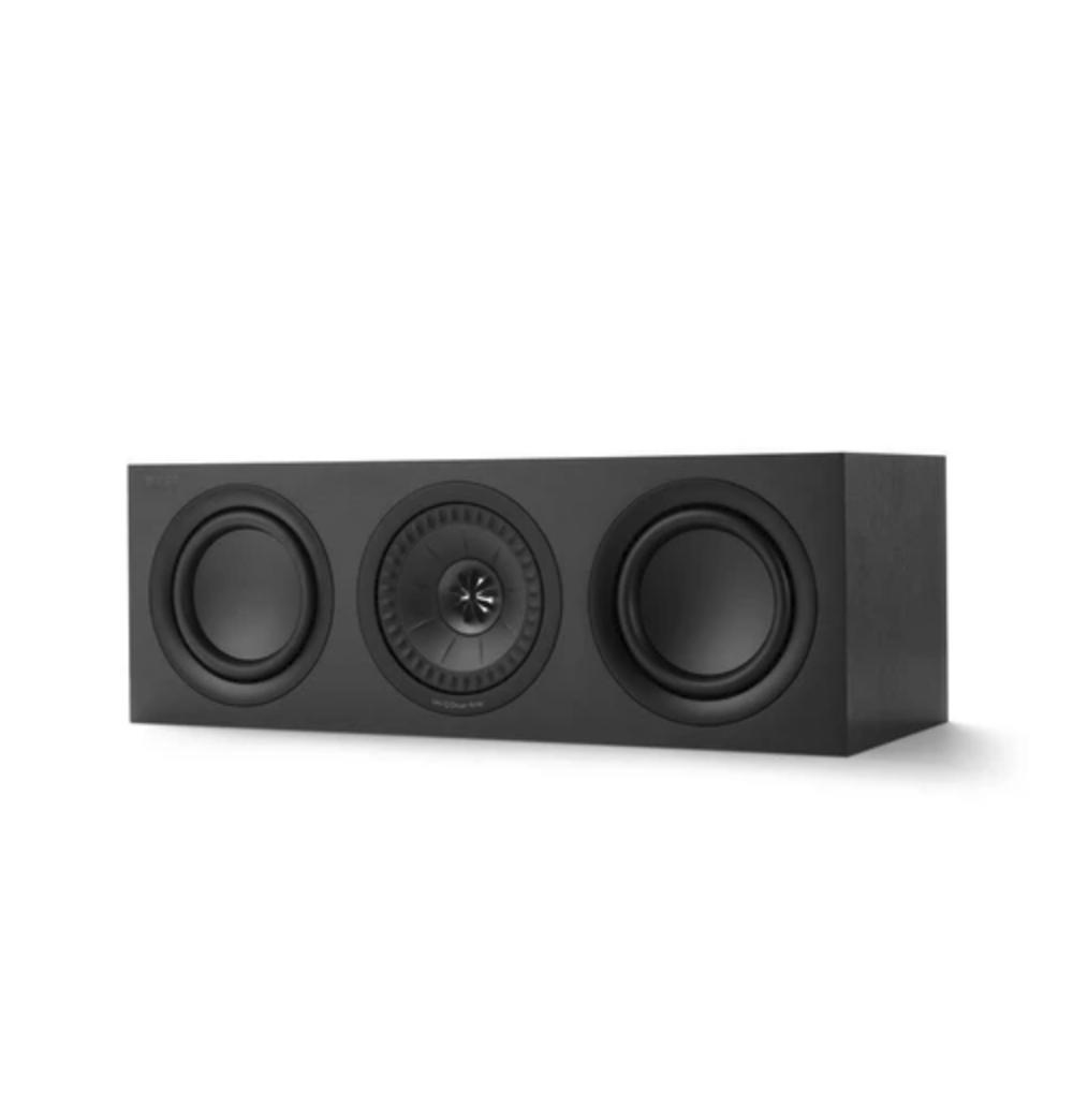 Kef Q250c Caixa Acústica Central Preta 100w Em 8 Ohms