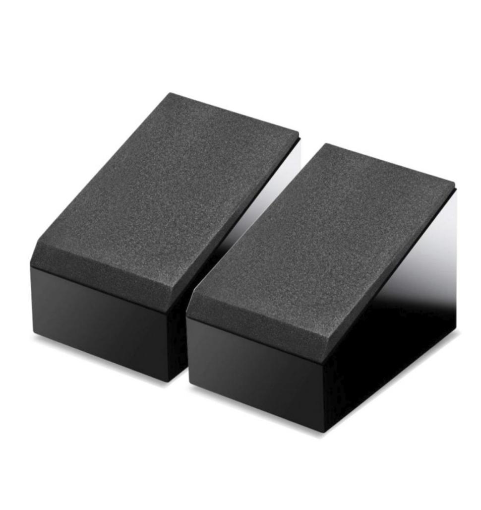 Kef R8a Par Caixa Acústica Dolby Atmos 150w Em 8 Ohms Preta