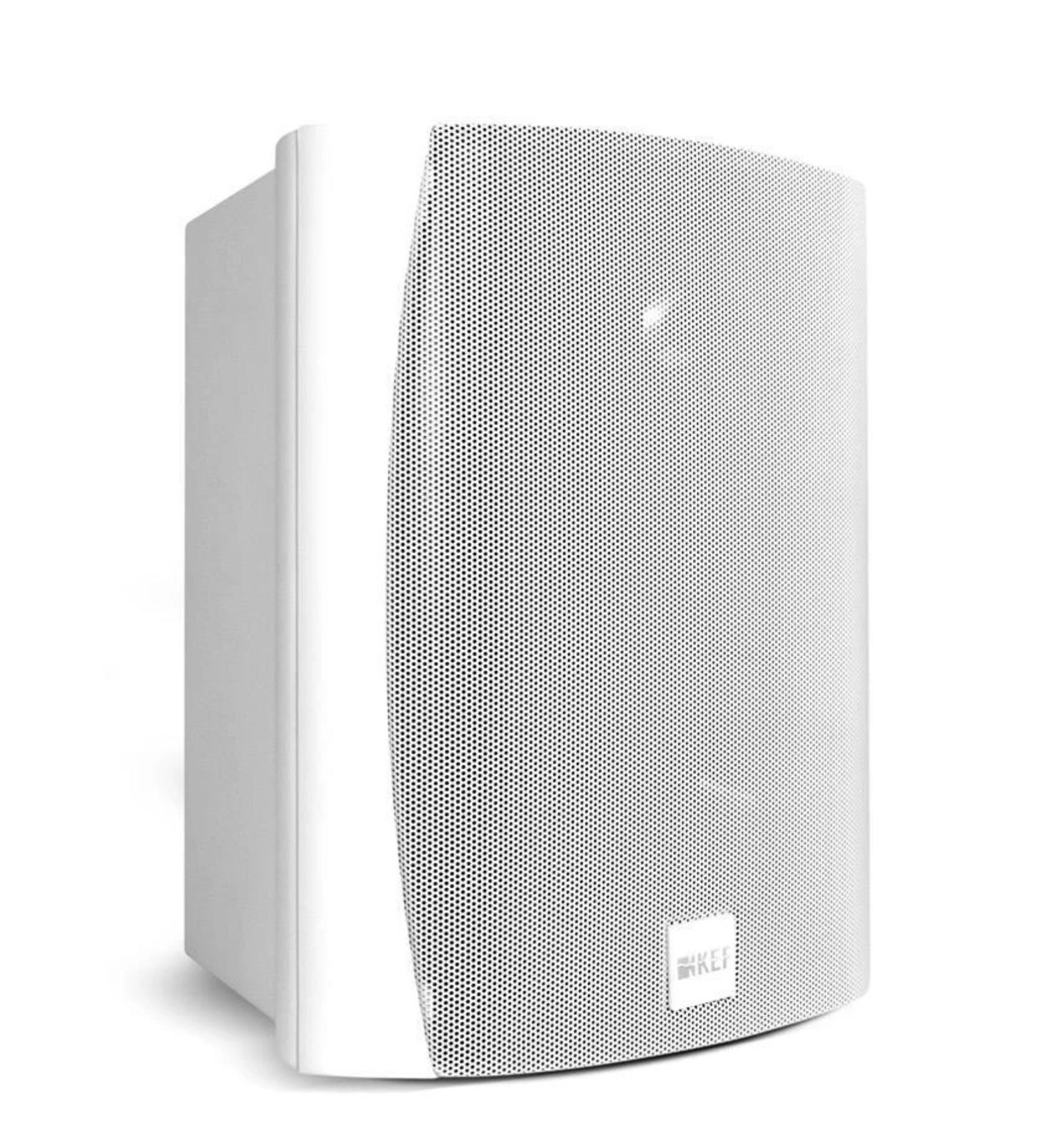 Kef Ventura 5 Caixa Acústica In/outdoor 100w - Par Branco