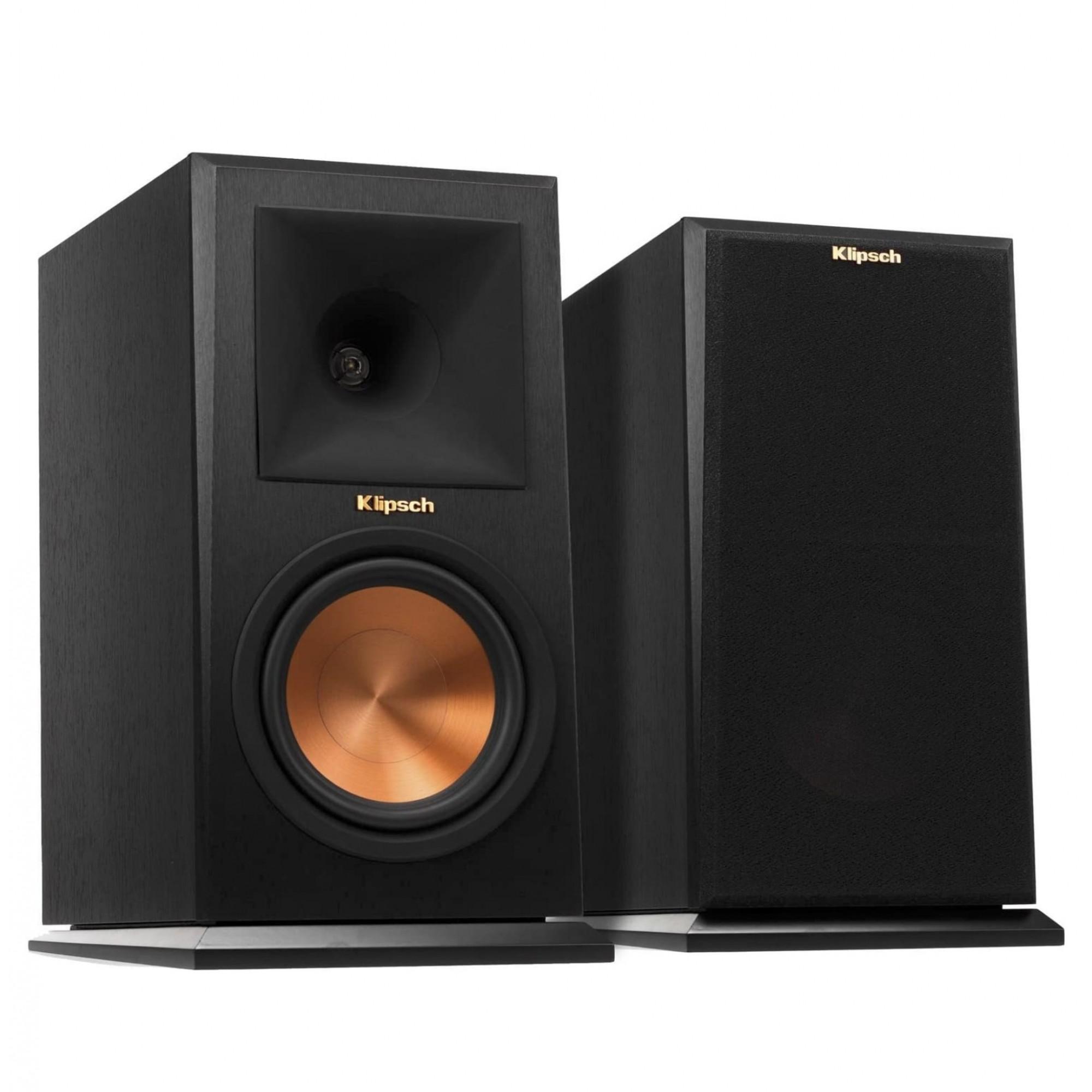 Klipsch Premiere RP-160M - Par de caixas acústicas Bookshelf Ebony ( par )