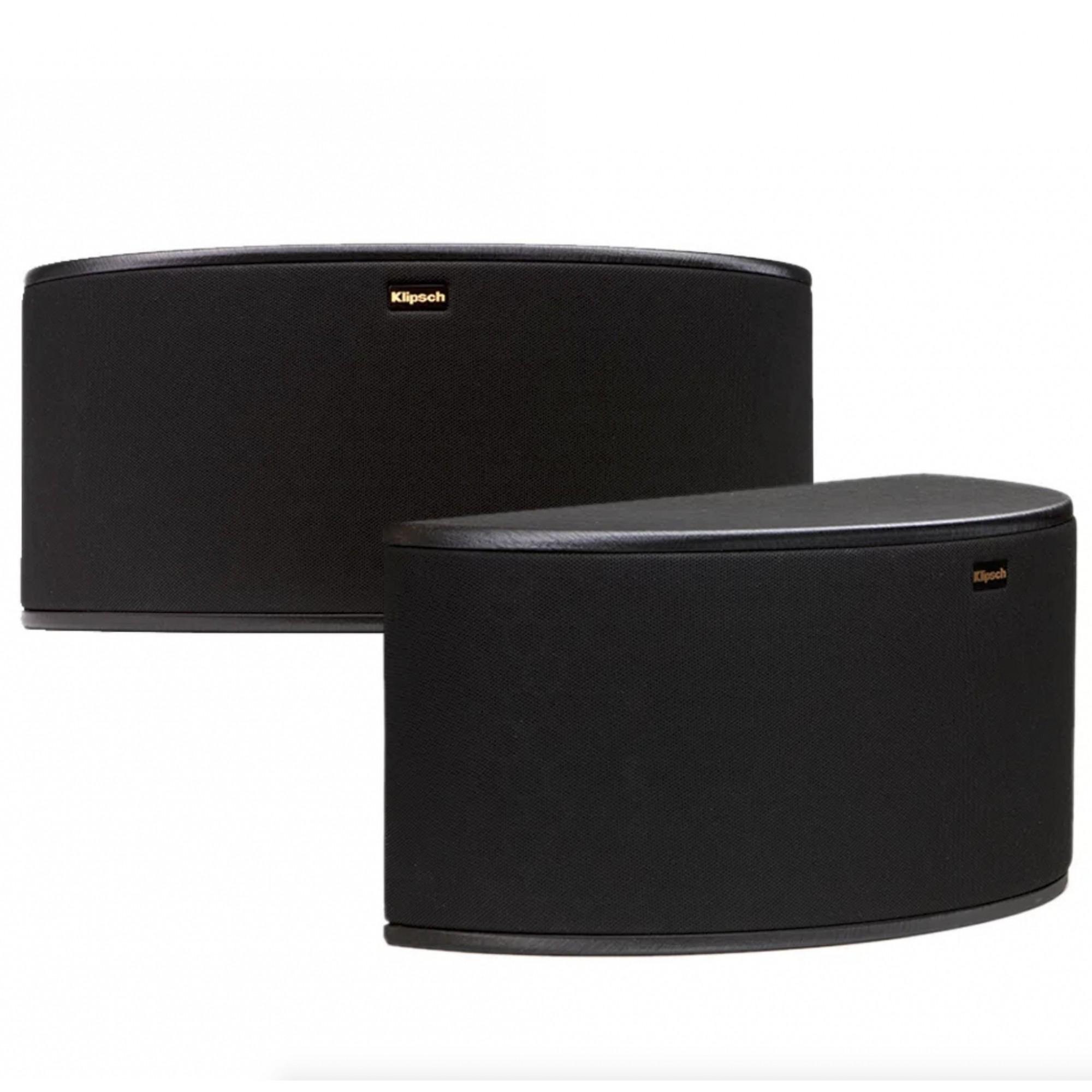 Klipsch R-14S - Par de caixas acústicas Surround para Home Theater - Preto